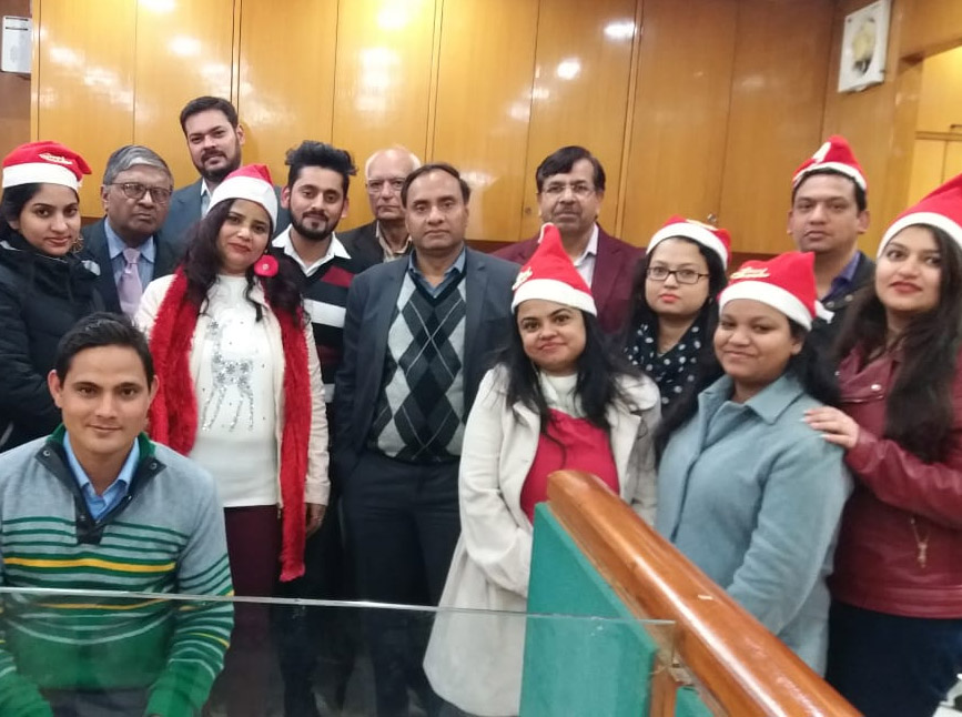 Christmas Party at Delhi Office