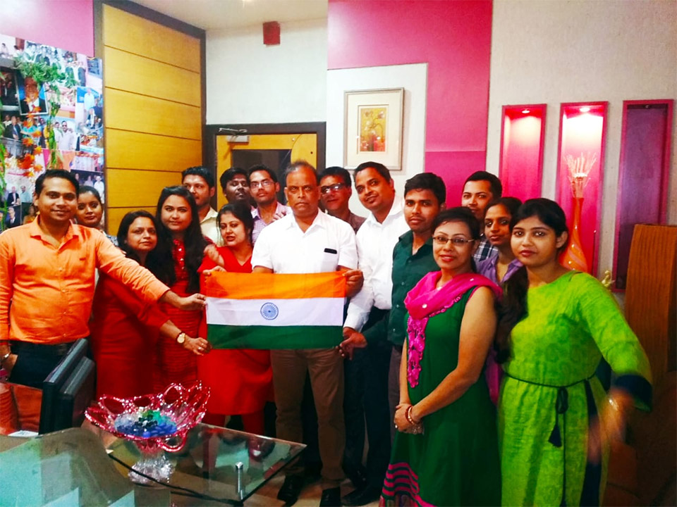 Independence Day at Kolkata Office