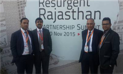Resurgent Rajasthan Partnership with Sumit 2015